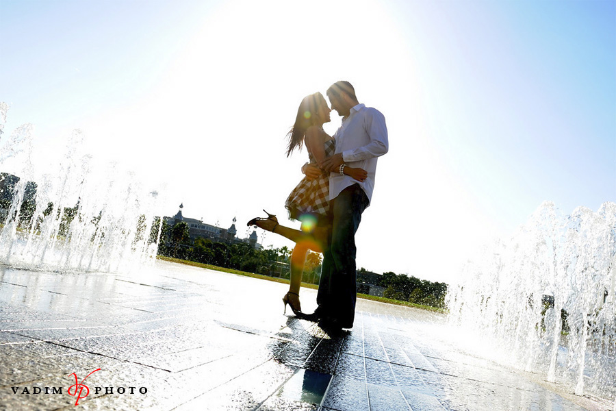 Downtown Tampa Engagement Photography - Maria Alex 1