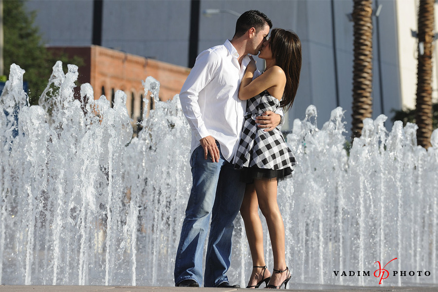 Downtown Tampa Engagement Photography - Maria Alex 3