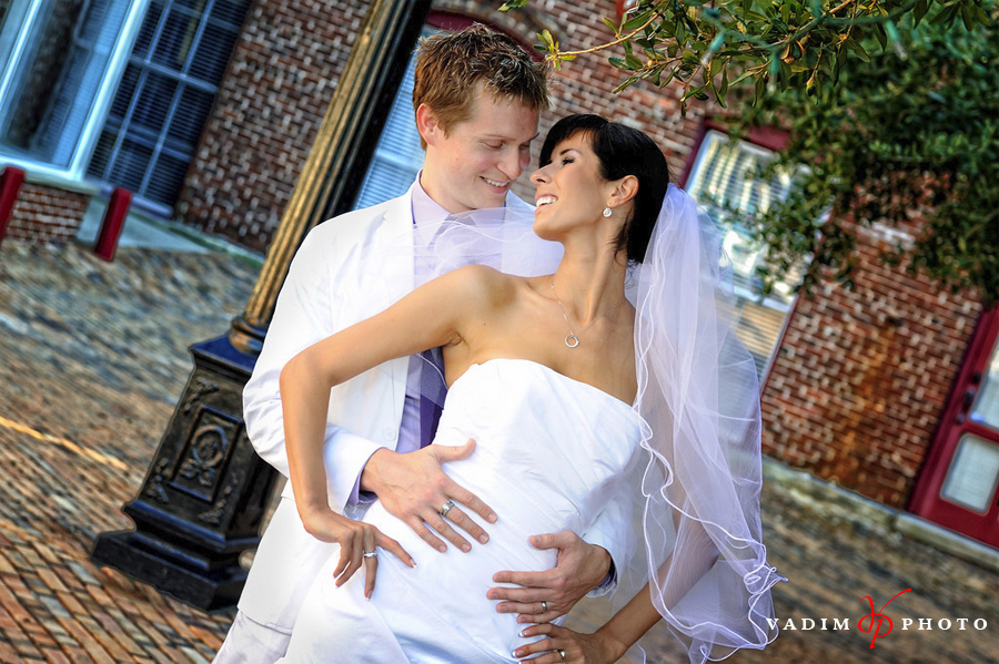 Both are very popular spots among Tampa wedding photographers